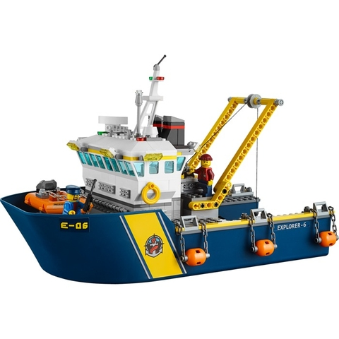 Trọn vẹn các chi tiết mô hình Lego City 60095 - Tàu Thăm Dò Biển Sâu
