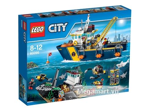 Hình ảnh vỏ ngoài của Lego City 60095 - Tàu Thăm Dò Biển Sâu