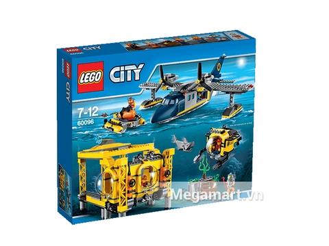 Hình ảnh vỏ ngoài của Lego City 60096 - Cơ Sở Hoạt Động Biển Sâu