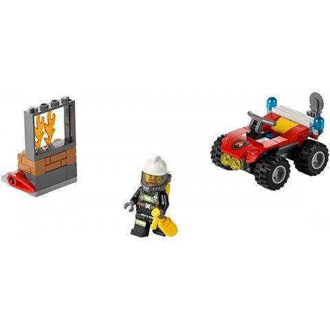 Lego City 60105 - Xe Cứu Hỏa Cơ Động cùng bé trải qua thời gian vui chơi ý nghĩa