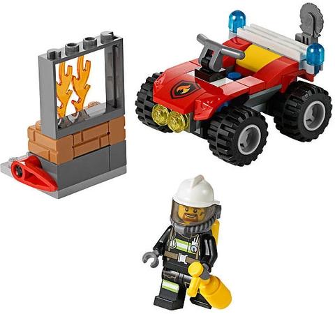 Lego City 60105 - Xe Cứu Hỏa Cơ Động - mô hình tổng thể