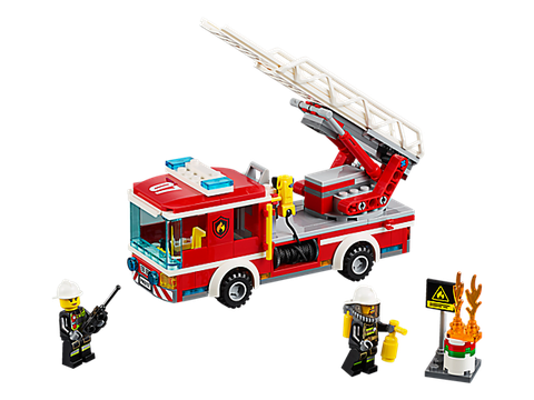 Lego City 60107 - Xe Thang Cứu Hỏa chi tiết