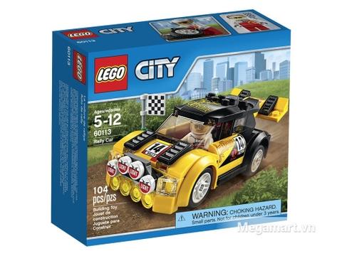Hộp đừng bộ đồ chơi Lego City 60113 - Xe đua đường trường