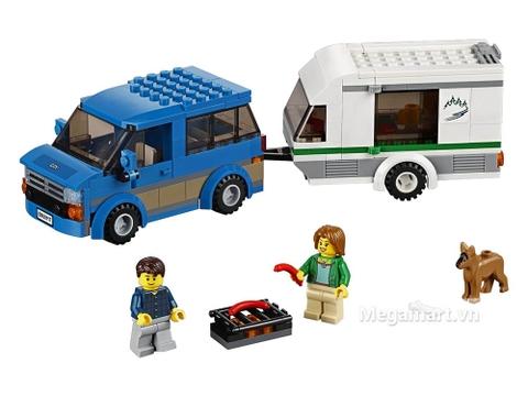 Mô hình đồ chơi Lego City 60117 - Xe lưu động dã ngoại