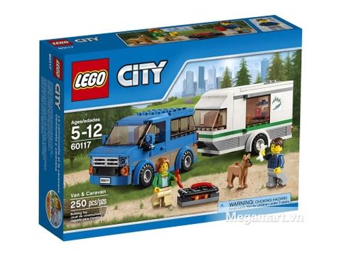 Hình ảnh vỏ hộp Lego City 60117 - Xe lưu động dã ngoại