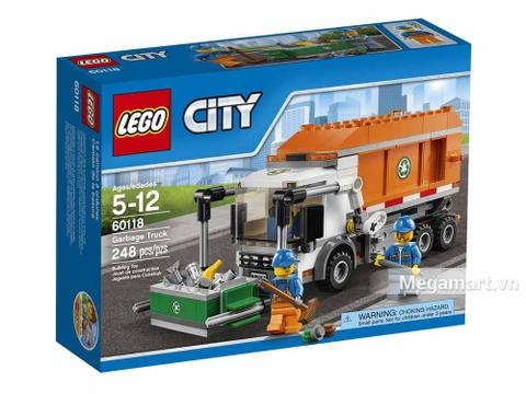 Lego City 60118 - Xe Tải Chở Rác