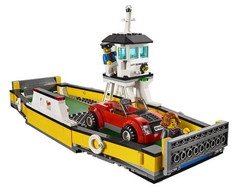 Mô hình sinh động của bộ đồ chơi Lego City 60119 - Phà