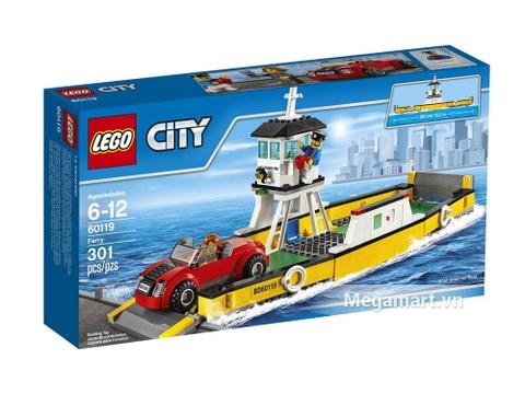 Hình ảnh vỏ hộp bộ đồ chơi Lego City 60119 - Phà