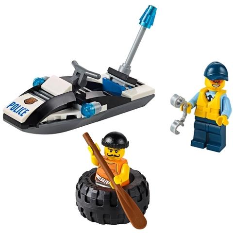 Lego City 60126 - Rượt đuổi tội phạm chi tiết