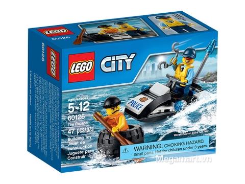 Lego City 60126 - Rượt đuổi tội phạm Vỏ hộp