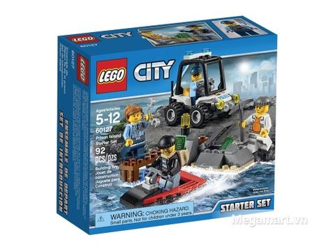 Hình ảnh vỏ hộp đồ chơi Lego City 60127 - Cảnh sát biển khơi bộ khởi đầu