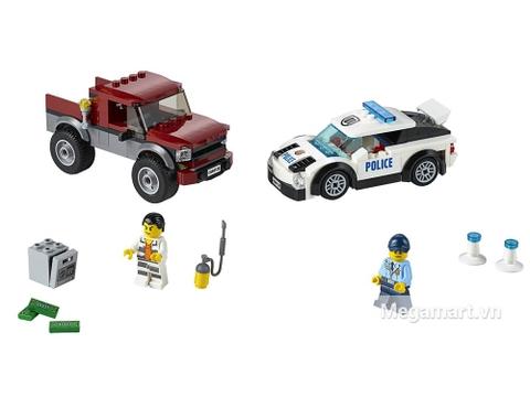 Chi tiết bộ đồ chơi Lego City 60128 - Cảnh sát truy đuổi