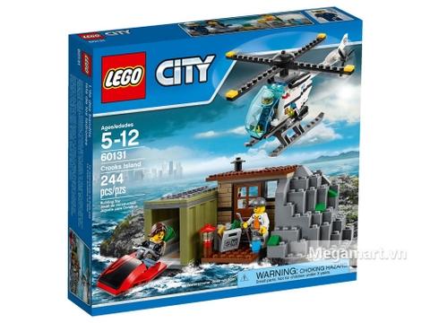 Hình ảnh vỏ hộp đồ chơi Lego City 60131  - Tội phạm biển