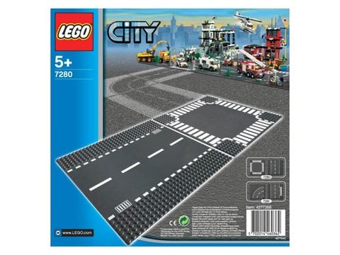 Hình ảnh bên ngoài sản phẩm Lego City 7280 – Bộ 2 tấm nền đường