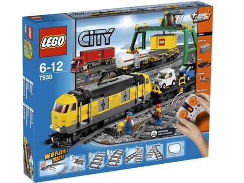Hình ảnh bên ngoài sản phẩm Lego City 7939 - Xe lửa chở hàng