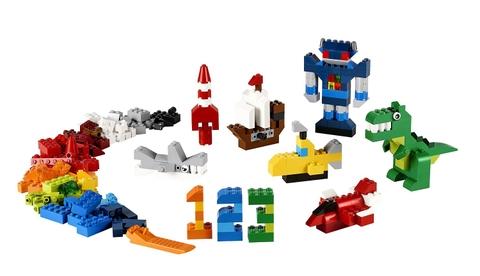 Các mô hình ấn tượng trong bộ Lego Classic 10693 - Hộp gạch classic sáng tạo bổ sung