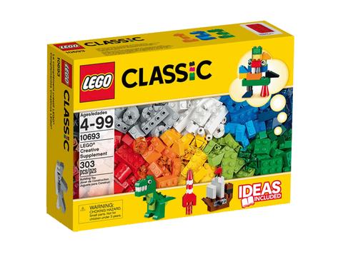 Hình ảnh vỏ hộp bộ Lego Classic 10693 - Hộp gạch classic sáng tạo bổ sung