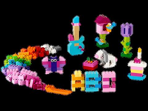Các mô hình cơ bản trong Lego Classic 10694 - Hộp gạch classic sáng tạo (màu sáng)