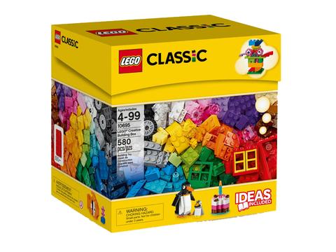 Hình ảnh vỏ hộp bộ Lego Classic 10695 - Thùng gạch lắp ráp sáng tạo