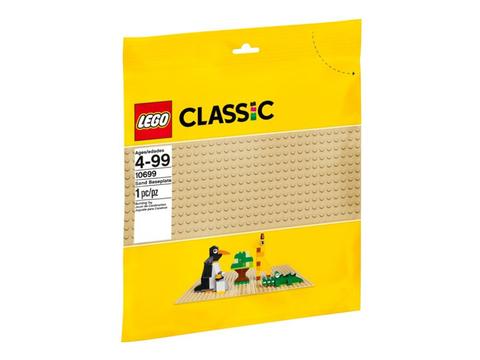 Hình ảnh vỏ hộp bộ Lego Classic 10699 - Tấm nền xây dựng màu cát