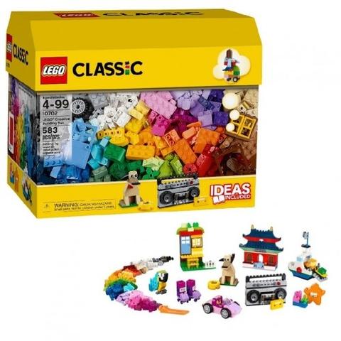 Trọn bộ các chi tiết trong bộ Lego Classic 10702 - Hộp gạch lớn sáng tạo
