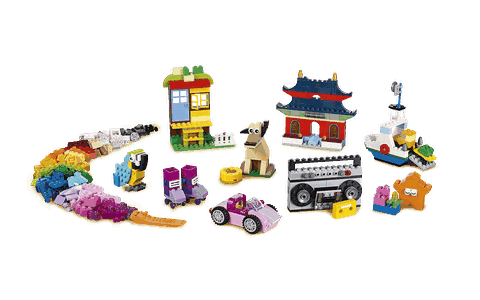 Bộ đồ chơi Lego Classic 10702 - Hộp gạch lớn sáng tạo giúp khai phá khả năng sáng tạo vô tận của bé