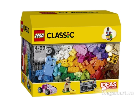 Ảnh bìa sản phẩm Lego Classic 10702 - Hộp gạch lớn sáng tạo
