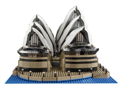 Lego Creator 10234 - Nhà Hát Con Sò Sydney tái hiện chân thực công trình kiến trúc nổi tiếng