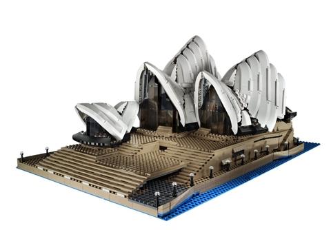 Bạn sẽ thỏa sức thiết kế và xây dựng với bộ xếp hình Lego Creator 10234 - Nhà Hát Con Sò Sydney