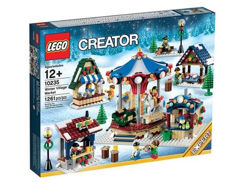 Hình ảnh bên ngoài sản phẩm Lego Creator 10235 - Chợ Làng Mùa Đông