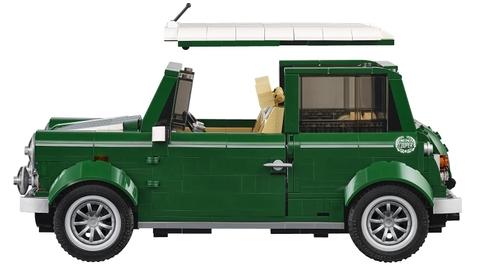 Bộ xếp hình Lego Creator 10242 - Mini Cooper với nhiều chi tiết tinh xảo làm từ nhựa an toàn