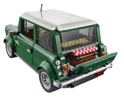 Bé được học hỏi nhiều kỹ năng với bộ đồ chơi Lego Creator 10242 - Mini Cooper
