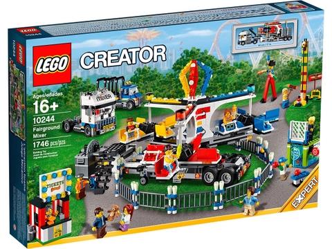Hình ảnh bên ngoài sản phẩm Lego Creator 10244 - Fairground Mixer