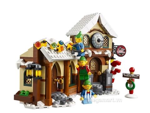 Lego Creator 10245 - Xưởng Đồ Chơi Của Ông Già No-en giúp trẻ rèn luyện tính cẩn thận