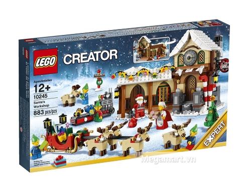 Hình ảnh bên ngoài sản phẩm Lego Creator 10245 - Xưởng Đồ Chơi Của Ông Già No-en