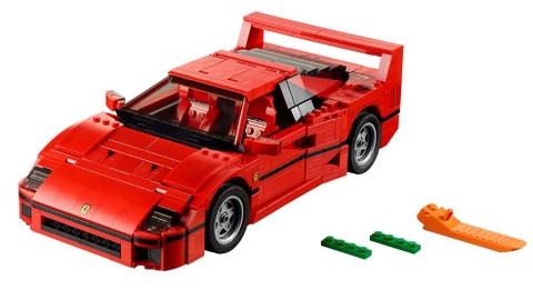 Trọn bộ các chi tiết có trong Lego Creator 10248 - Siêu xe Ferrari F40