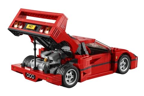 Bộ xếp hình Lego Creator 10248 - Siêu xe Ferrari F40 cho bé chơi xe thông minh