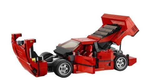 Lego Creator 10248 - Siêu xe Ferrari F40 dành cho bé đam mê tốc độ