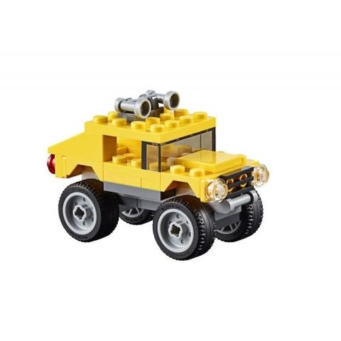 Bé hãy cùng tham gia cuộc đua với bộ xếp hình Lego Creator 30283 - Xe địa hình Off-Road nhé