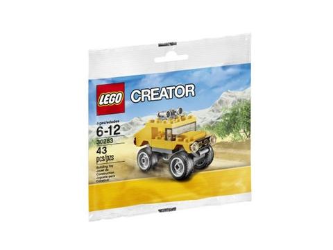 Túi đựng ngoài bắt mắt của bộ đồ chơi Lego Creator 30283 - Xe địa hình Off-Road