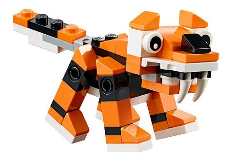 Lego Creator 30285 - Mô hình hổ cho bé biết thêm nhiều kiến thức