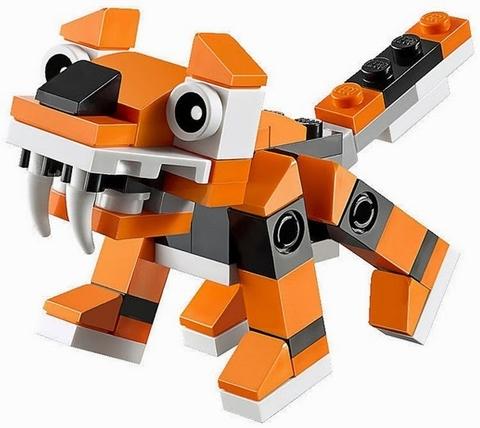 Mô hình Lego Creator 30285 - Mô hình hổ dễ thương