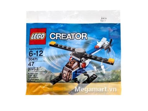 Hình ảnh túi đựng sản phẩm Lego Creator 30471 - Trực Thăng Mini