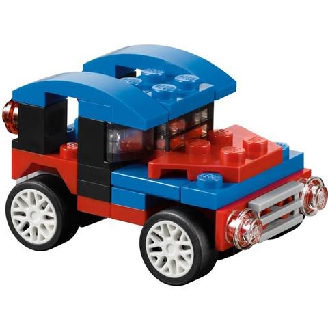Bé có thể tạo ra chiếc xe ô tô như thế này trong Lego Creator 31000 - Xe Đua Mini