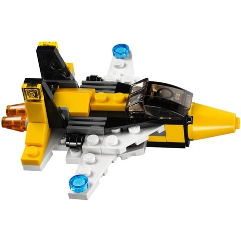 Bộ đồ chơi Lego Creator 31001 - Máy Bay Mini với nhiều mô hình biến đổi độc đáo