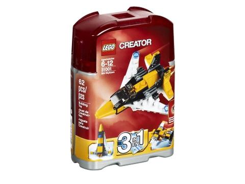 Hình ảnh bên ngoài sản phẩm Lego Creator 31001 - Máy Bay Mini