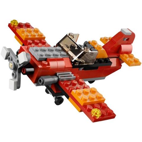 Bộ ghép hình Lego Creator 31003 - Trực Thăng Đỏ độc đáo