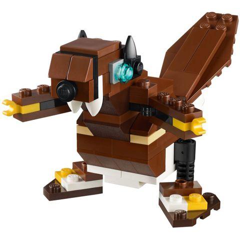 Bộ đồ chơi Lego Creator 31004 - Động Vật Hoang Dã thích hợp phát triển tư duy cho trẻ từ 7 đến 12 tuổi
