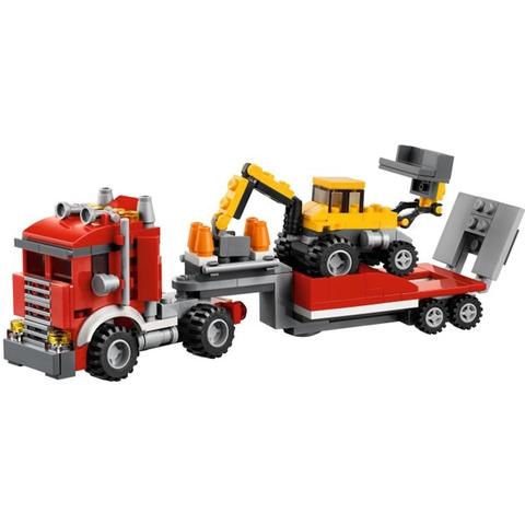 Lego Creator 31005 - Xe Tải Chuyên Dụng được làm từ chất liệu tuyệt đối an toàn