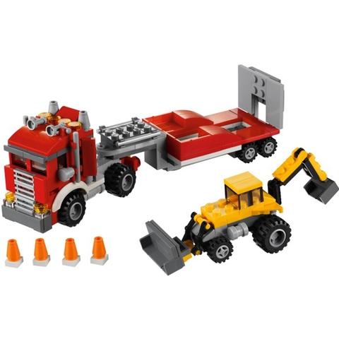 Bé tha hồ thực hiện nhiệm vụ thú vị trong bộ xếp hình Lego Creator 31005 - Xe Tải Chuyên Dụng